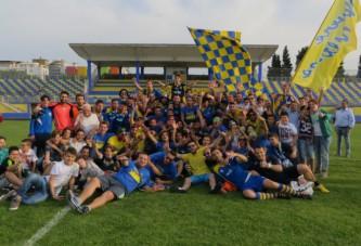 """Audace Cerignola in Promozione: 6-1 alla Virtus Molfetta, tripudio al """"Monterisi"""""""