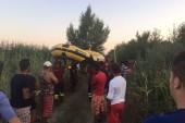 Disperso un rumeno nell'Ofanto, in corso le ricerche |Video