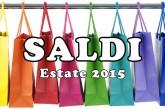 Cerignola, saldi estivi 2015: al via il 3 luglio. Consigli e avvertenze per i consumatori