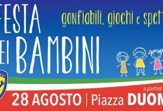 """Audace Cerignola, il 28 agosto in piazza Duomo la """"Festa dei bambini"""""""