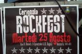 """""""Cerignola Rockfestival"""": buona la prima. Dal social le lamentele dei residenti delle Fornaci"""