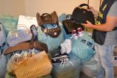 Sequestrati 1500 pezzi di merce contraffatta