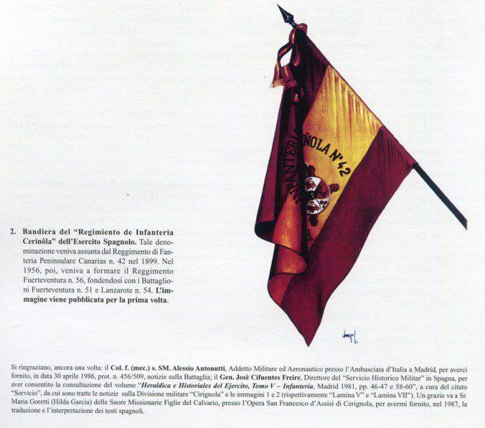 Bandiera del regimento